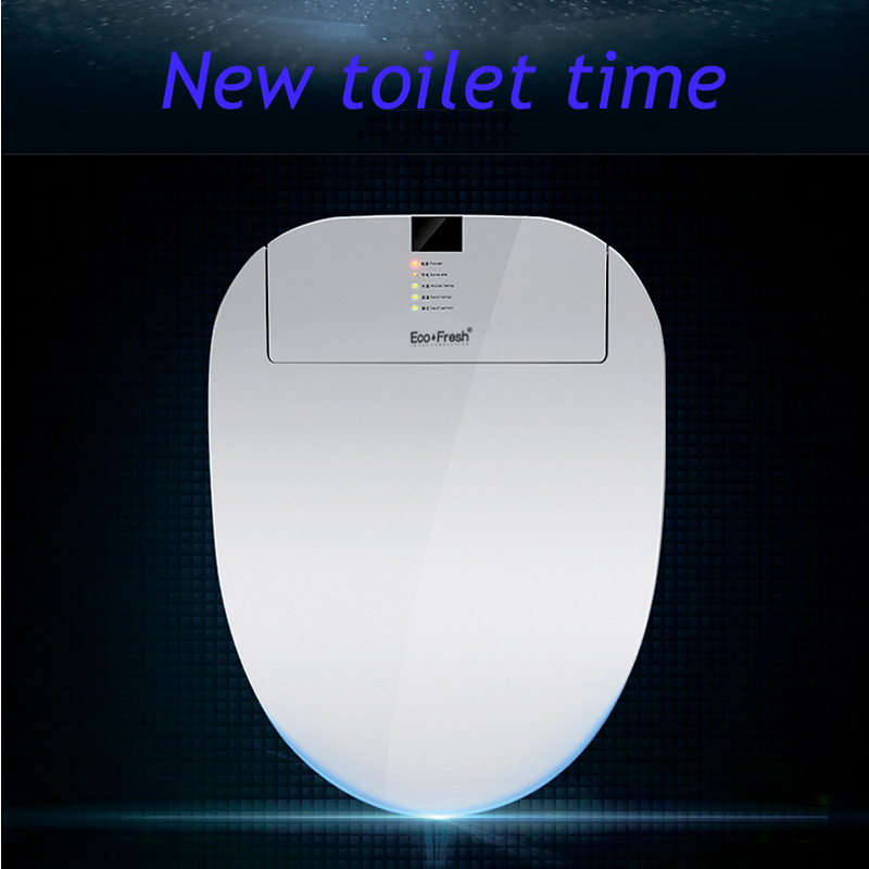 EcoFresh Smart toilet seat Washlet Electric Bidet cover intelligent bidet heat clean drying Massage care for child woman the old