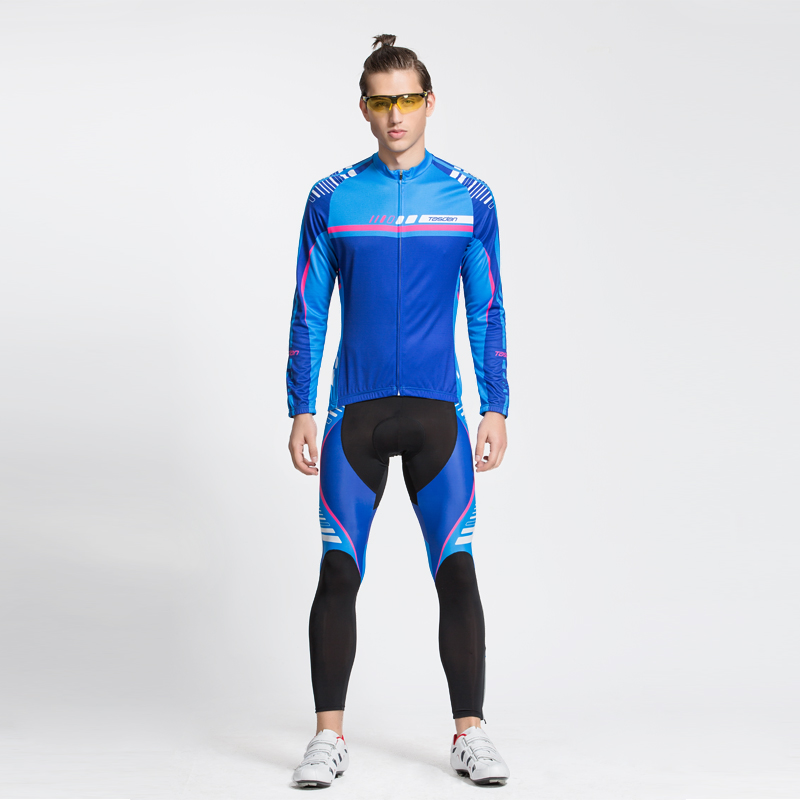Tasdan 2016 New Cycling Wear Cycling Clothes Men's Cycling Jersey Sets Breathable Quick Dry Mountain Bike Sports wear ckahsbi winter long sleeve men uv protect cycling jerseys suit mountain bike quick dry breathable riding pants new clothing sets