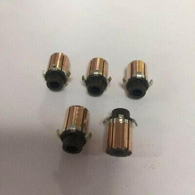 5pcs 3.175 X 7.6 X 10.5mm 5P Teeth Copper Bars Electric Motor Commutator