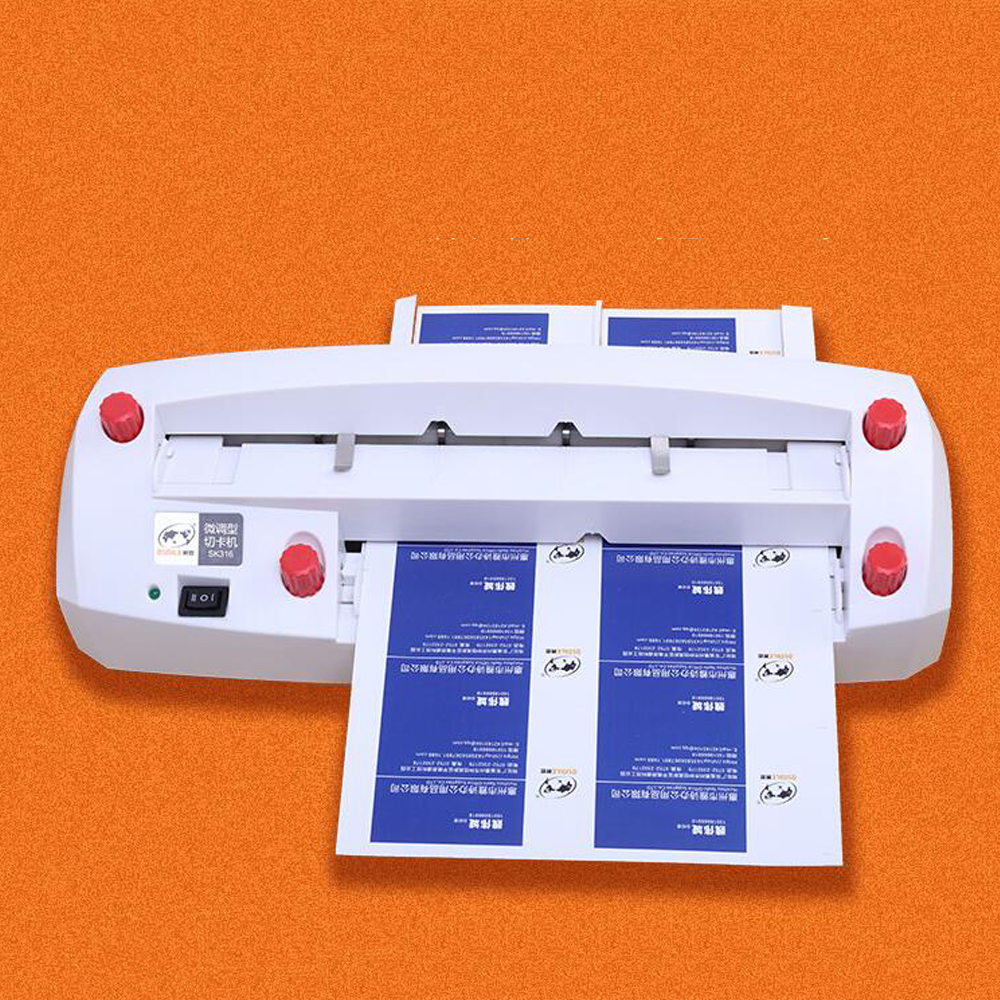 2018 NEW high quality Automatic Name Card Slitter Name Card Cutter A4 Size Business Card Cutting