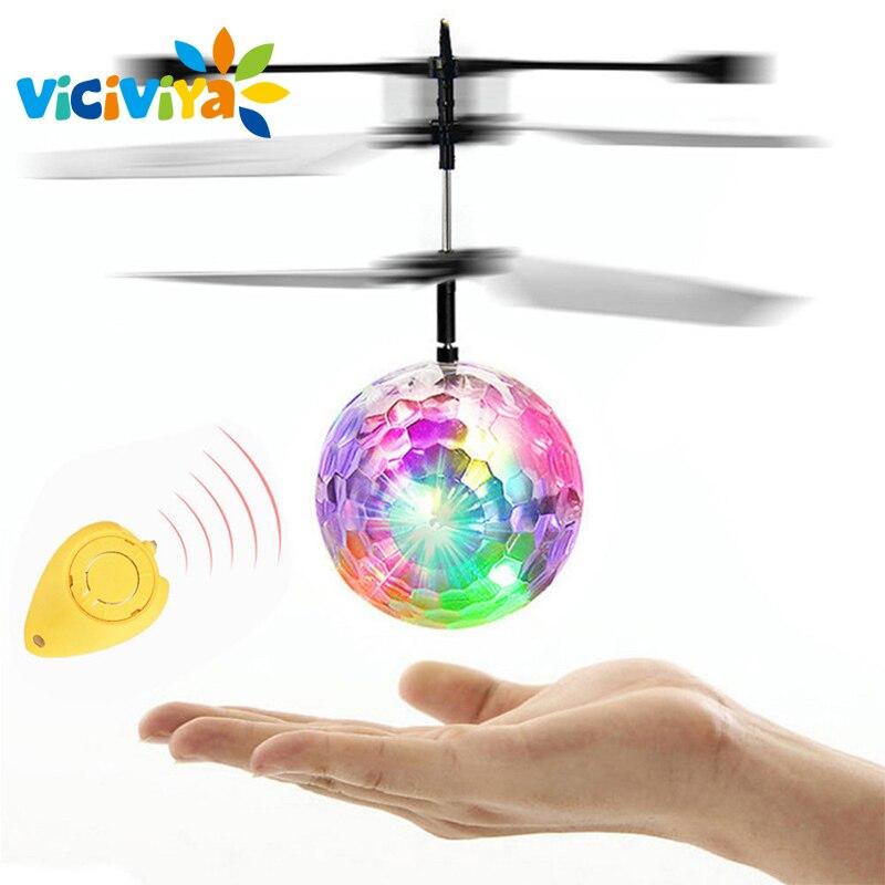 RC Spielzeug EpochAir RC Fliegende Kugel RC Drone Hubschrauber Ball Eingebauten Disco Musik Mit Shinning Led-beleuchtung für Kinder Jugendliche/