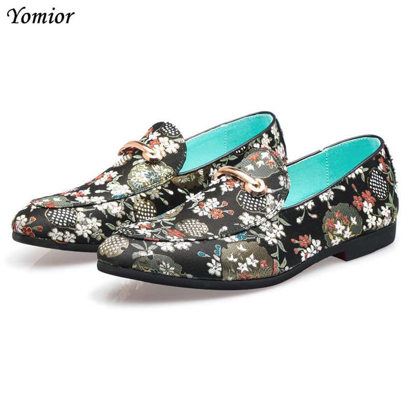 Yomior Classic Brand Fashion Summer Men Dress Shoes Formal Business Suit Wedding Shoes Flats Loafers Big Size Sapato Social