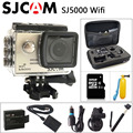Original sjcam sj5000 wifi cámara 1080 p full hd de deportes de acción dv 2.0 pulgadas de Buceo 30 M Impermeable Videocámara mini SJ 5000 Sport Cam