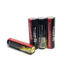 10pcs/lot TrustFire Protected 18650 3.7V 2400mAh Camera Torch Flashlight Rechargeable Battery Batteries Free Shipping