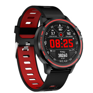 Image 2 - L8 ساعة ذكية IP68 مقاوم للماء Smartwatch موليتي الرياضة الرجال ECG PPG ضغط الدم سوار قياس معدل ضربات القلب