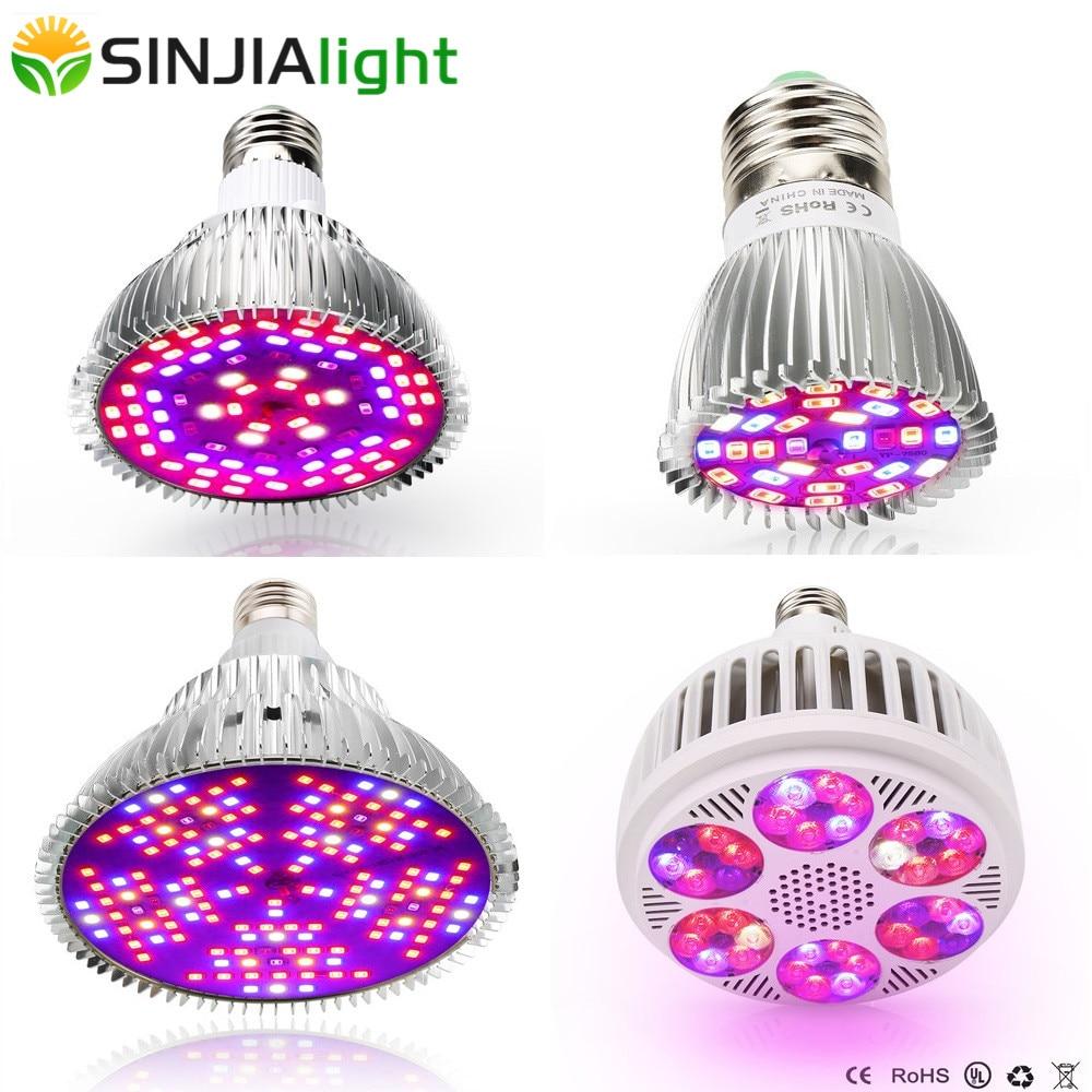 28W 30W 50W 100W Full Spectrum LED Grow Light Phytolamps For Plants Growing Lamp Flowers Seedlings Garden Grow Box Plant Lamp