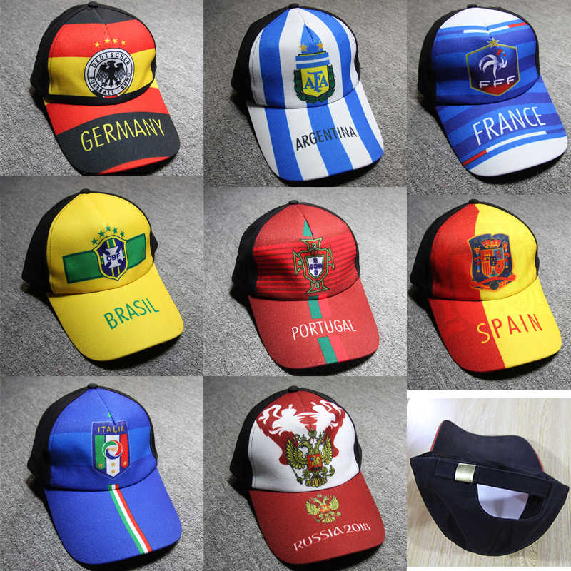 74b2c93c6db Competition national team baseball cap Argentina Germany France Brazil  Portugal Italy Russia Sun hat caps Cheerleading