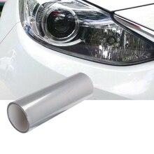 Оптически прозрачная вязкая защитная пленка 60 см Глянцевая 3-слойная Автомобильная фара защитная пленка наклейка против царапин