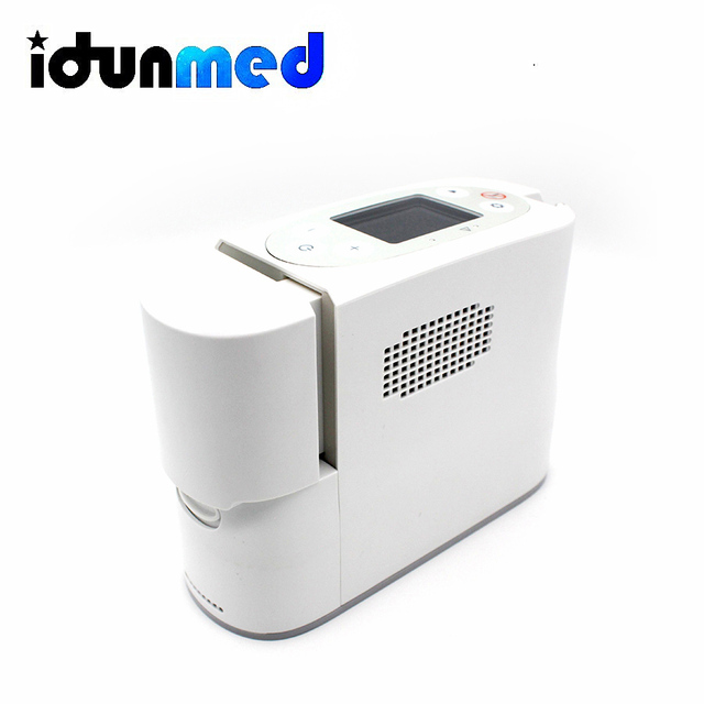 idunmed Oxygen Concentrator Generator Portable Mini Machine With Oxygen Cannula Battery Operated For Travel Outdoor Home Driving 6