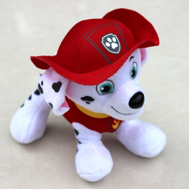 20CM Canine Patrol Dog Toys Anime Doll Action Figures Car Patrol Puppy Toy Patrulla Canina Juguetes Gifts