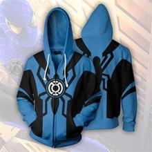 Men and Women Zip Up Hoodies Amazing Spiderman 3d Print Hooded Jacket Mravel 4 Movie Superheroes Sweatshirt  Streetwear Costume цены