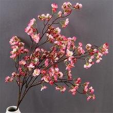 10Pcs Gefälschte Langen Stiel Kirschblüten 39.37