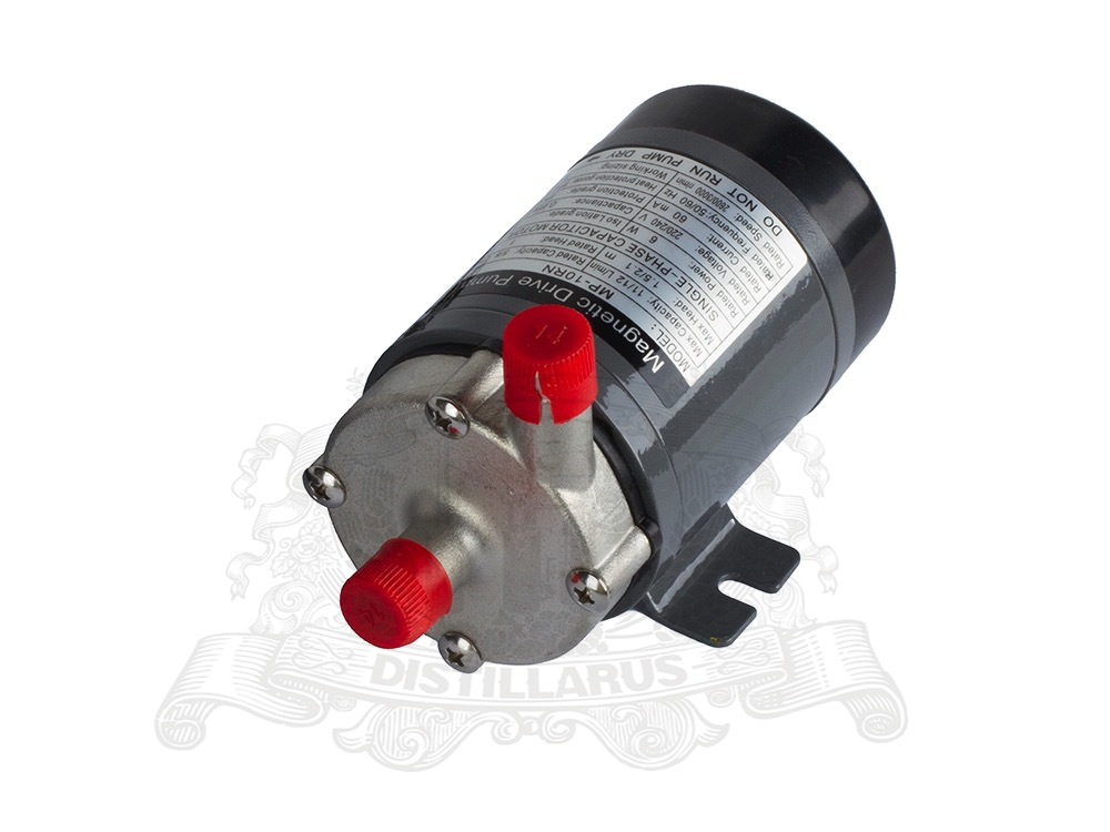 Magnetic Drive Pump stainless steel head MP10 Heat resistance 120 C Connection 14mm EURO US plug