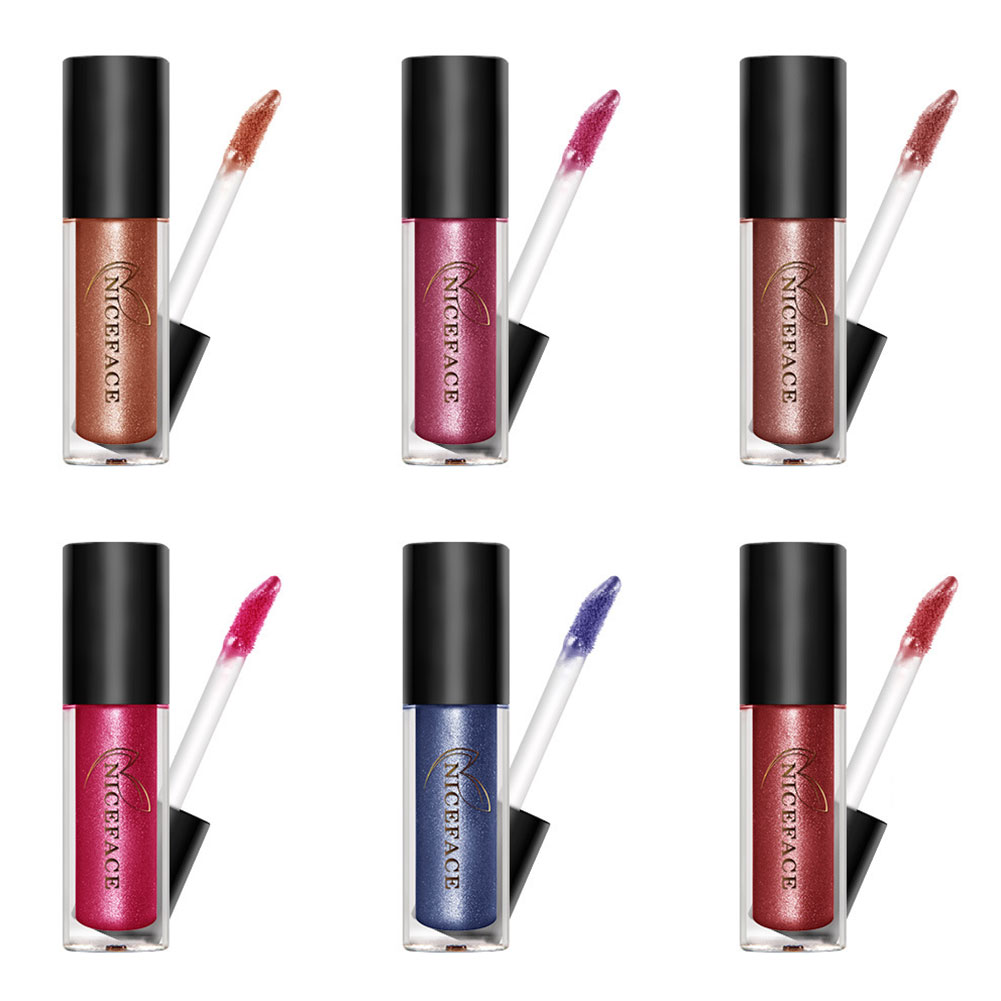 High Quality 6 Color Pencil Lipstick Pen Lip Liner Long Lasting Gloss Makeup Lip Gloss For Women Lady 88