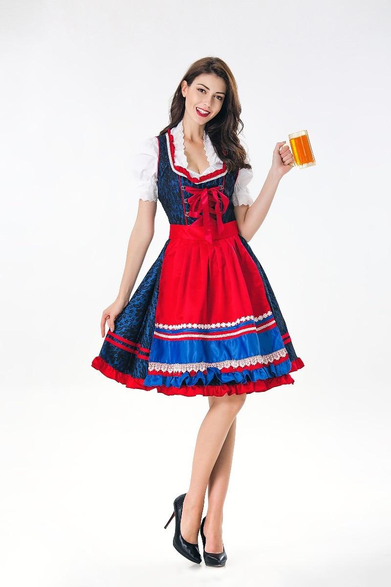 Beer Man//Women Fancy Dress Costume Adult Oktoberfest Heidi