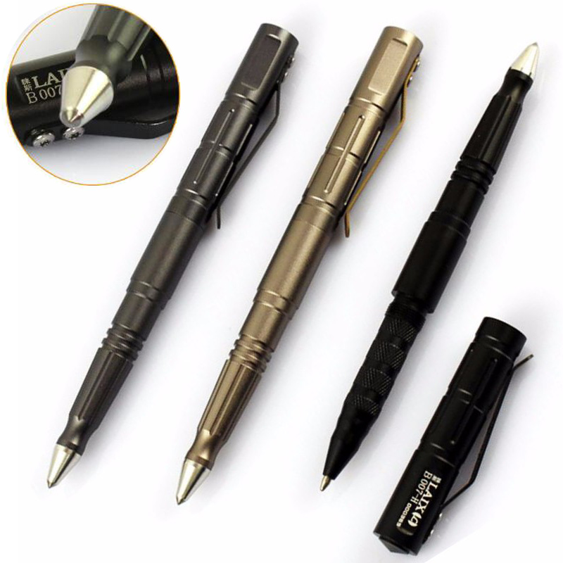 Oudoor EDC Tools Self Defense Tactical Pen Tungsten Steel Portable Defensa personal Shocker Pens Anti-skid Design FC