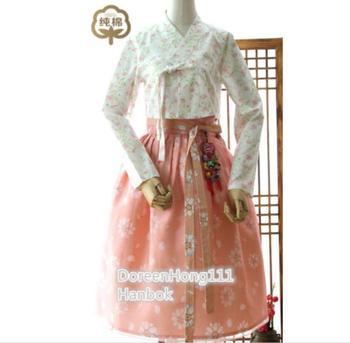 2020 Hot Fashion Modern Hanbok Fushion Hanbok Korean Traditional Hanbok Dress Modernized Hanbok Popular Set