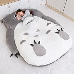1.5x2.0 m Il Mio Vicino Totoro Tatami Sacco A Pelo Doppio Letto Beanbag Divano Per Audlt Caldo Del Fumetto Totoro Tatami Sacco A Pelo bag Materasso