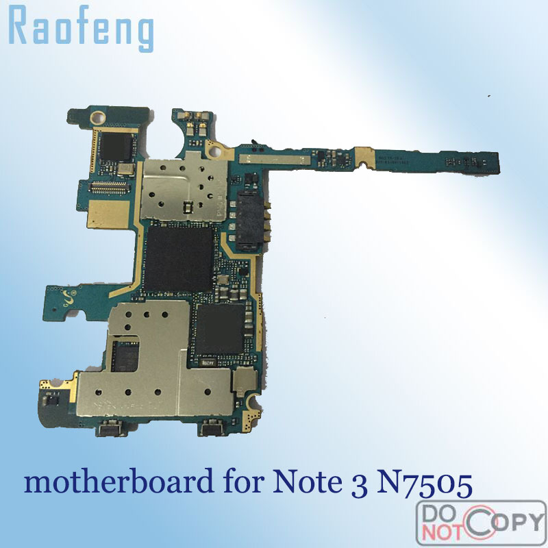 Raofeng unlocked for Samsung galaxy Note 3 n7505 motherboard Disassembled Logic Board