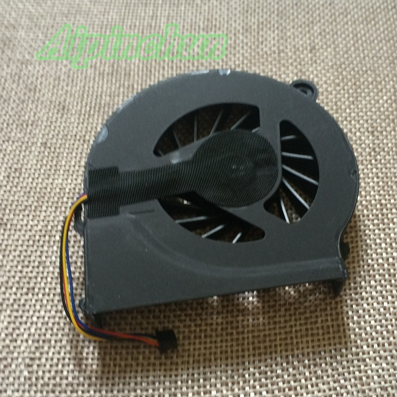 Aipinchun 4Wires New Cooling CPU Fan for HP Pavilion G4 G6 G7 CQ42 G42 CQ62 G62 CQ56 Laptop Cooler Fan 4 Lines new laptop cpu cooling fan for hp pavilion g7 1070us g7 1150us g7 1310us g7 1219wm series 595833 001