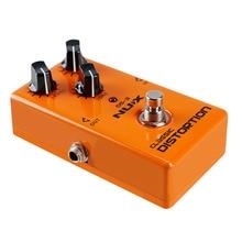 Nux ds-3 heavy metal clásico dispositivo analógico distorsión distorsión efecto de bloque marrón tono de sonido durable guitarra accesorios parte