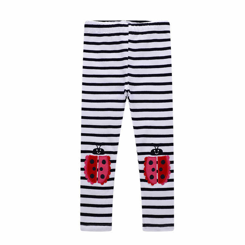 Pantalones pitillo de dibujos animados de unicornio de 2-7T para niñas, Venta caliente, pantalones de algodón rosa, nuevos primavera ropa de otoño