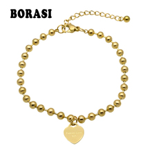 New Fashion Women Party Jewelry Lover Heart Pendant Rose Gol