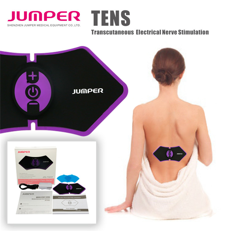 Jumper wireless electronic Pluse Stimulator,JPD-TN001 electro therapy pain relief tens unit Transcutaneous for back leg shoulder