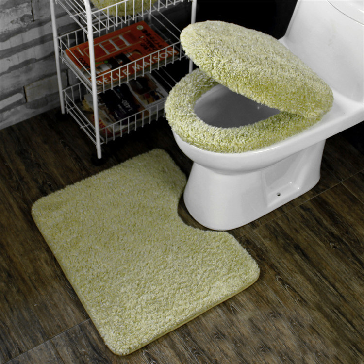 cushioned toilet seat covers. Winter Bathroom Seat Warmer Coral Fleece Carpet Toilet Cover Soft Case  Closestool Lid 3pcs set Cushion in Covers from