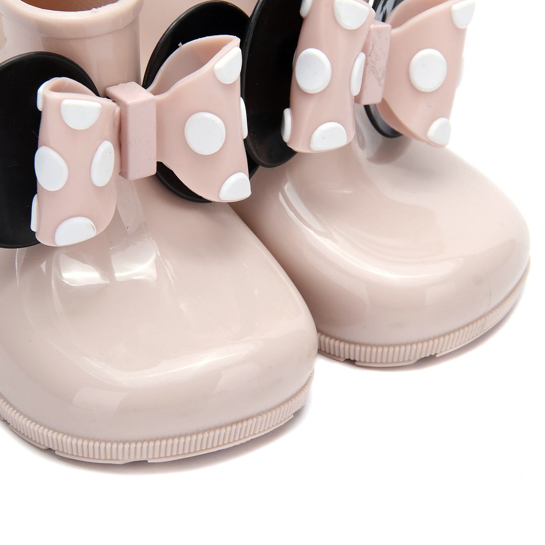 Mini Melissa Kids Regenlaarzen Mickey Minnie PVC Bow 2 Layer Meisjes - Kinderschoenen - Foto 4