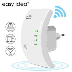 EASYIDEA WIFI Repetidor Inalámbrico Wifi Antena Amplificador de Señal Extensor de Red de 300 Mbps 802.11n/b/g Repetidor de Señal de Refuerzo Wifi