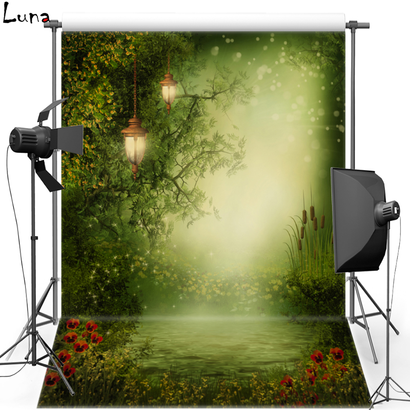 Forest Flower Vinyl Photography Background Backdrop For Children Fairy Tale New Fabric Flannel Background For Photo Studio 1667 bookshelf vinyl photography background backdrop for kids wood floor new fabric flannel background for children photo studio 2694