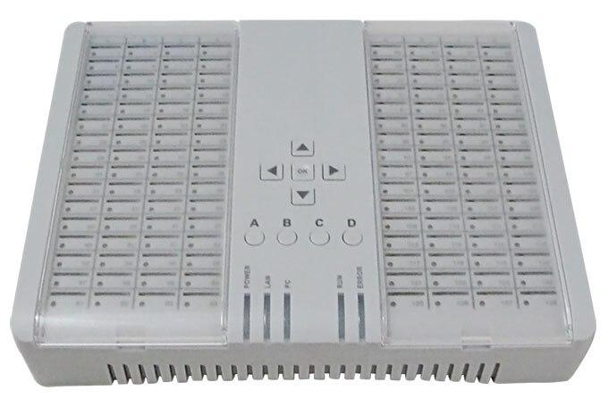 SIM Banque SMB128 SIM serveur pour GOIPs, travail avec DBL GOIPS GSM VoIP Passerelle, contrôler à distance et gérer
