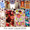 TAOYUNXI Soft Silicone Phone Case For Acer Liquid Z530 Z530S Bag Cover For Acer Liquid Z530 Rose Flower Painted Housing Case