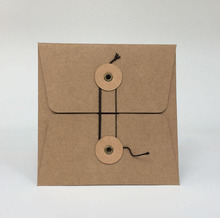 FREE SHIPPING 20 PCs Cardboard CD DVD Sleeves Envelopes Holder Cover Kraft Paper Paperboard Durable Brown