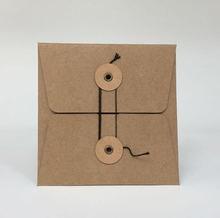 Maotu 20 шт/упак пакет из крафт бумаги упаковка для компакт