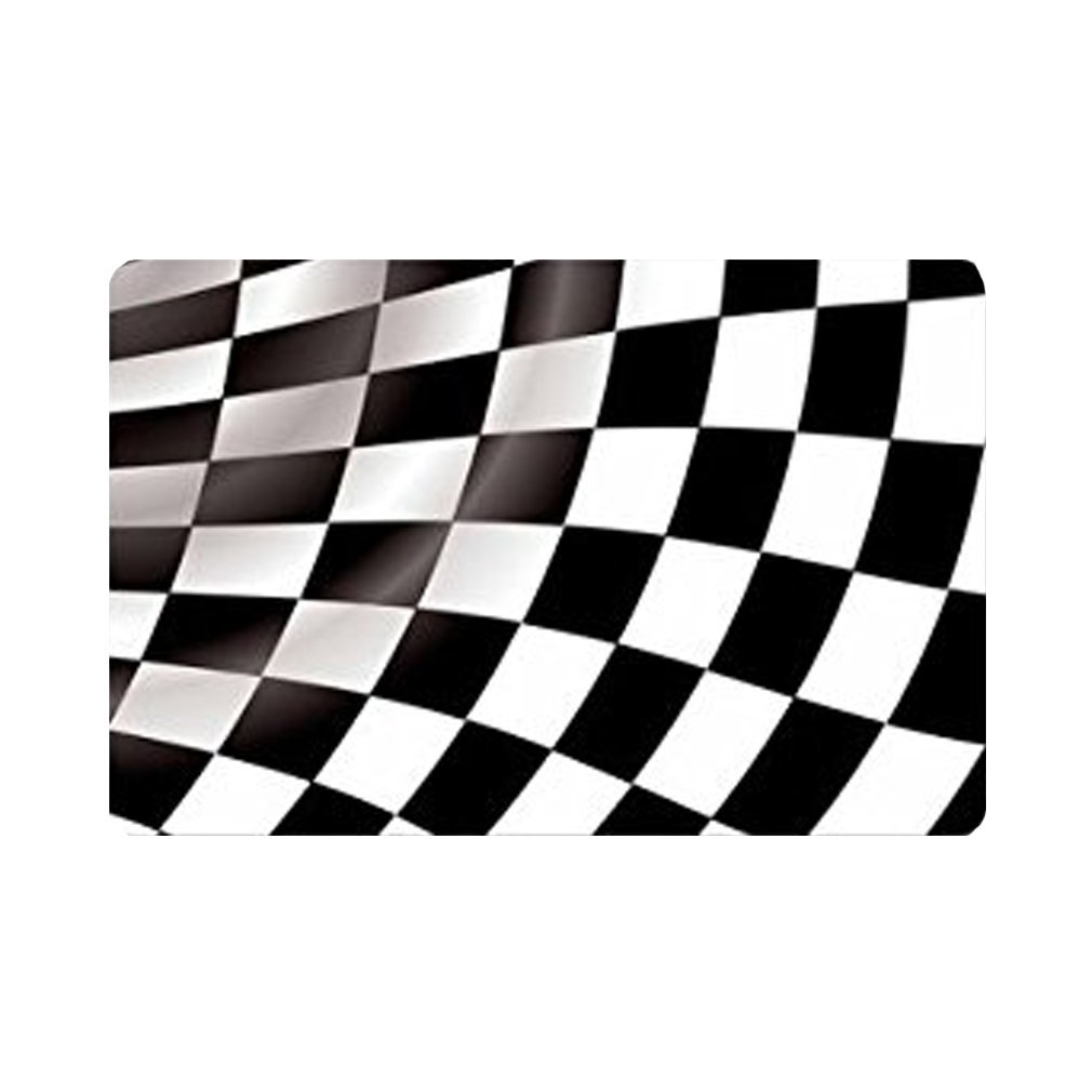 Checkered Flag Rug: Fashions Doormat Checkered Flag Indoor/Outdoor/Front
