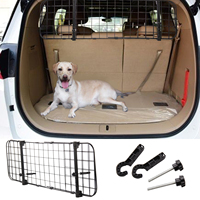 Pet Dog Barrier Adjustable Mesh Net Fence for Car Barrier Guard Back Seat Safety Protector Pet Travel Mesh
