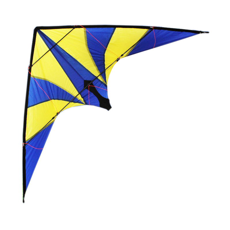 New Outdoor Fun Sports 1.8m Lightning Power Stunt Kite Entry Level For Beginner Good Flying Free Shipping