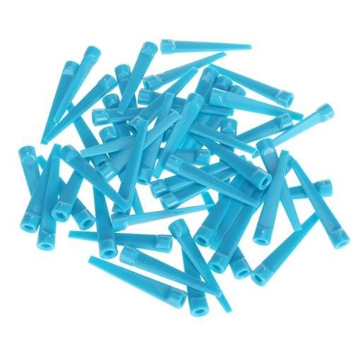 ELOS-50pcs Plastic Golf Tee Tees (Blue)