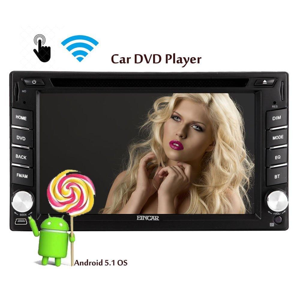 Android 5.1 Autoradio Navegación GPS Radio de Coche PC Multimedia Electrónica Bl
