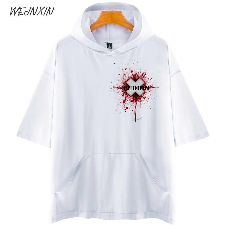 WEJNXIN О-образным вырезом Лето отряд самоубийц Для мужчин Для женщин 3D принт футболка с капюшоном с принтом Харли Квинн Джокер Дэдшот футболка Повседневное футболки