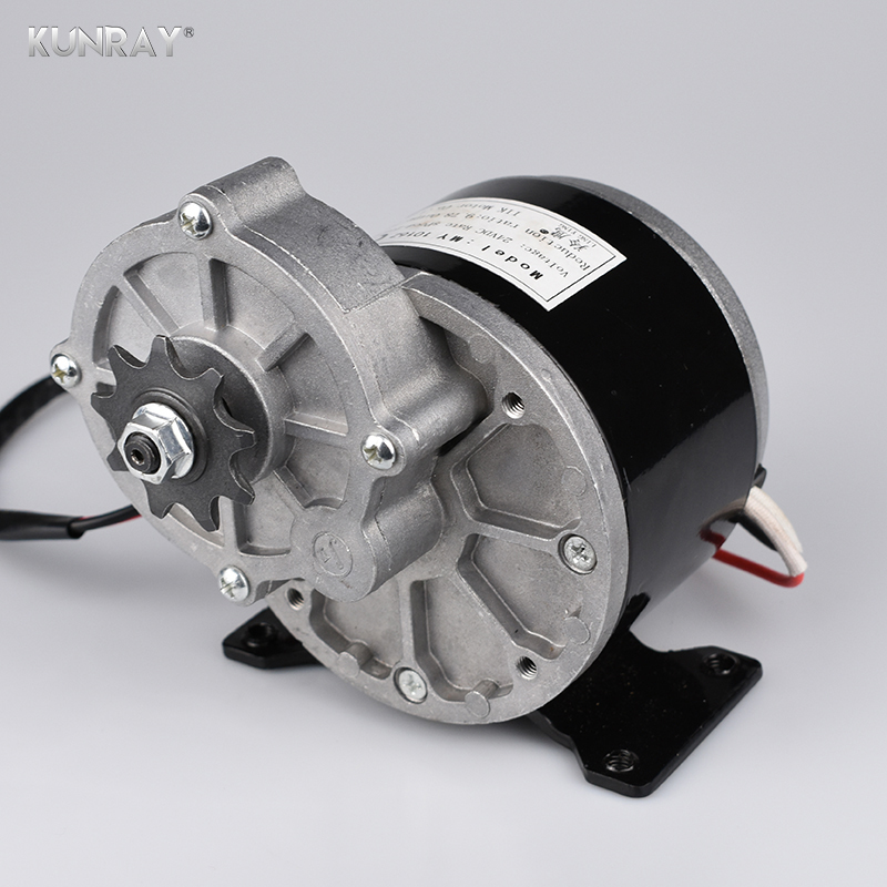 24VDC GETRIEBE MOTOR 250 W LINGYING MY1016Z Elektrische Bike Pinsel Motor Fahrrad Motor Conversion Kit Ebike Gebürstet Motor 2750 RPM