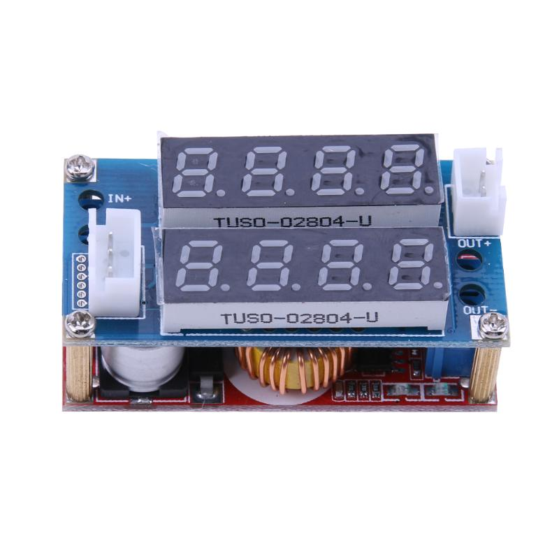 5V-30V to 0.8V-29V Step Down 15A Constant Current Constant Voltage Power Supply Dual Display Module for Power Supply