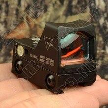 Мини-rmr 1x Красный точка прицел коллиматор Глок/дробовик зеркальный прицел подходит 20 мм Пикатинни Крепление M4379