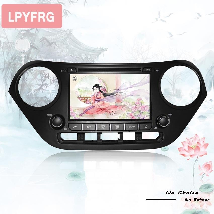 Android 9 0 CAR Audio DVD player FOR HYUNDAI I10 2014 2018 car gps head device