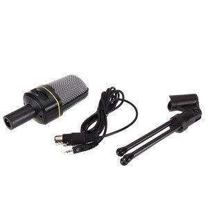 Image 3 - SF 920 Professionale Unidirezionale Audio Del Microfono con Il Supporto Del Basamento per Il Pc Del Computer Portatile di Supporto di Canto E Chat