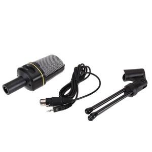 Image 3 - SF 920 מקצועי חד כיווני קול מיקרופון עם Stand מחזיק עבור מחשב נייד תמיכה שירה ומשוחח