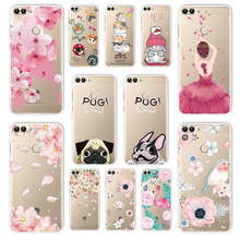 3D Relief Lace Case For Huawei P Smart P8 P9 Lite 2017 Enjoy 7S Y5 Prime 2018 Cover Honor 7a(5.45) 8Lite