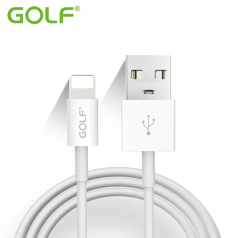 100% Original GOLF 100cm 8 Pin USB Data Sync Charge Cable For iPhone 5 5S 6 6S 7 Plus iPad mini 2 Air 2 iOS10 Phone Charger Wire